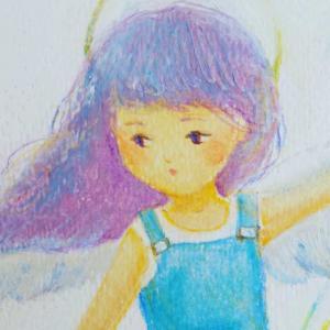天使アートご感想『添えられていたメッセージを読んで、号泣し、そして納得。』