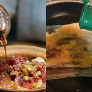 【中国語】醤油や塩を「掛ける」