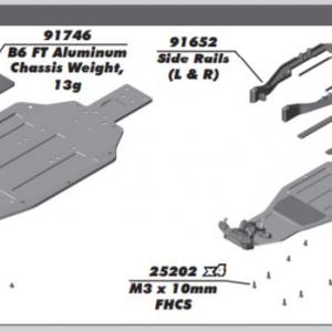 Team Associated RC10 B6.2D assembly 組み立て Part 2
