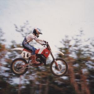 モトクロスの写真 1986 ノービス (国内B級)