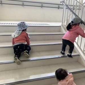 いつもの階段へ