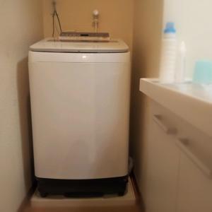 パナソニックの洗濯機を買いました。 NA-FW80S6です。