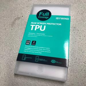 Xiaomi Mi Note10の液晶に『IBYWIND』の保護フィルムを貼る