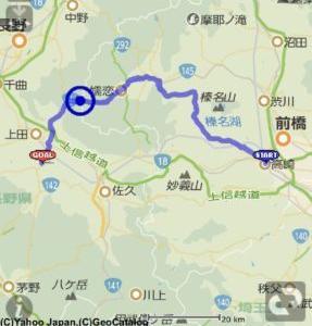 【夏休み】群馬・長野・山梨ツーリング day1