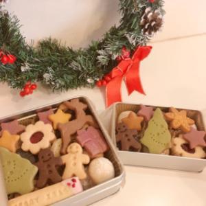 数量限定クリスマスクッキー缶
