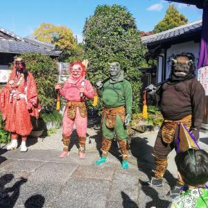 秋の大祭 法住寺今年も行きました(ヽ´ω`)