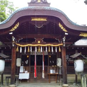 雨の神社参拝