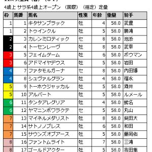 天皇賞(春) 2016 枠順確定からの展開予想