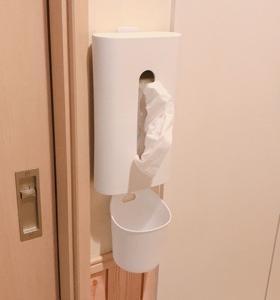 洗面所のティッシュの置き場所★