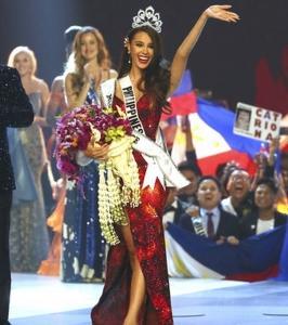 ミス・ユニバース2018の栄冠はやはりフィリピン!!! Miss Philippines Catriona Gray Is Crowned Miss Universe 2018