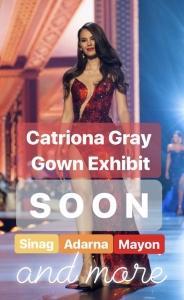 ミス・ユニバース2018カトリオーナ嬢の3番目のイブニングガウン 'Where's the 3rd gown?': Mak Tumang shows off 'Perla Oriente' for Catriona Gray