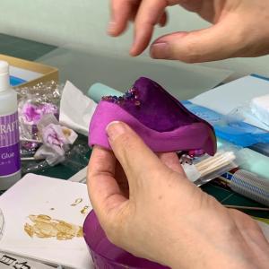 造形1 クレイで作る靴のデザイン