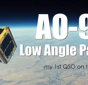 アマチュア衛星AO-91で衛星通信してみました