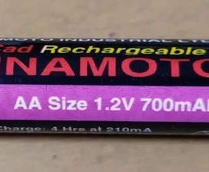 昔のニッカド電池 元気でした