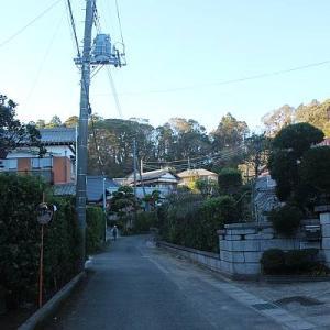 春日神社と三等三角点「南並木」