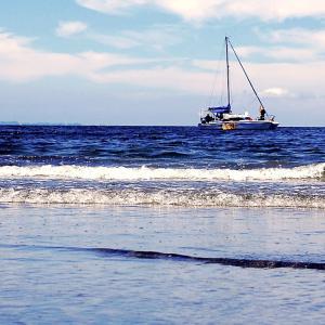海風の涼しさが