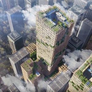 高さ350メートル、木造で地上70階建ての高層ビル実現へ - 建設プロジェクトが本格的に始動・・・11階建て以上の前例なし
