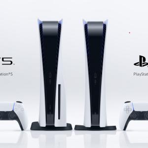 ソニー次世代ゲーム機「プレイステーション5」(PS5)本体公開 - 4K UHD Blu-rayの再生などに対応