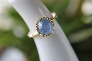 スターサファイヤの指輪です。