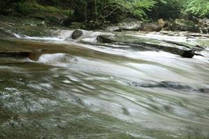 見どころ満載の溪谷!