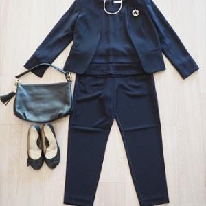 【卒園式の服装:母編】『anyFAM』でセレモニー服を購入。パンツ派の当日コーディネート案。