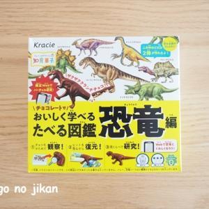 【知育菓子】『たべる図鑑 恐竜編』は作って学べて美味しいお菓子!夏休みのおやつに活用します!!
