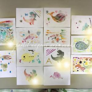 子どもたちとママと一緒にアート体験