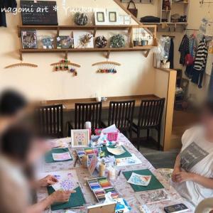 9月も丹波篠山でパステル和アート♡