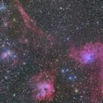 ぎょしゃ座の星雲群