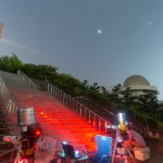 ジモート天文台で おかんのあご