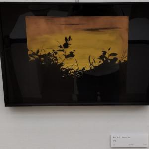 日本フランス現代美術世界展で沈金作品を観て来ました