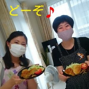 2020年7月お料理教室風景&お料理レポ