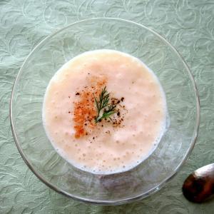 【レシピ】冷たい桃のスープ