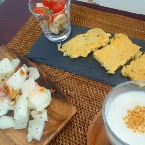 オンライン料理教室9月・高野豆腐のチーズトースト、薬膳