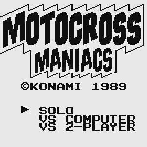 【少しだけプレイ済】 モトクロスマニアックス(ゲームボーイ)