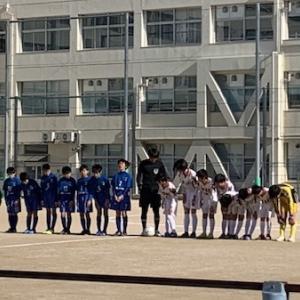2020/2/8〜2/9 第41回広島市小学生サッカー新人大会(笠岡杯)(5年)