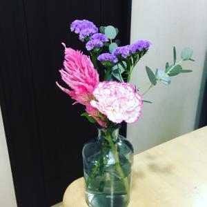 今週のお花(ブルーミーライフ)