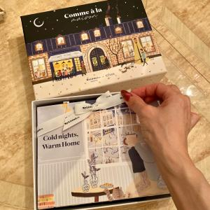 2019年11月号のマイリトルボックス~「Comme à la maison」