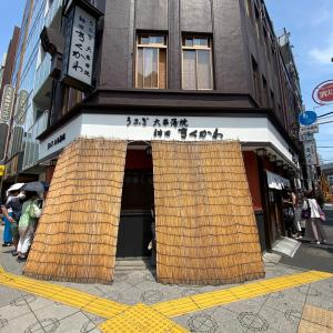 うなうな♡神田きくかわ本店でランチ
