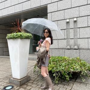 雨の日ランチコーデ♪