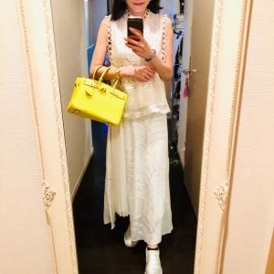 先日のレンジローバーイベントコーデはホワイト☆