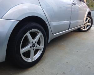 ヤベッ!タイヤのせい。
