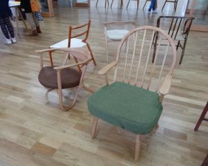 卒展で見つけた物椅子椅子!
