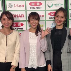 鷲見玲奈・竹﨑由佳・福田典子 テレ東ミテネー & カレンダー紹介!