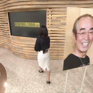 和久田麻由子アナ 白いタイトスカートのお尻!