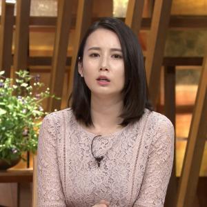 森川夕貴アナのセクシーな胸元!!