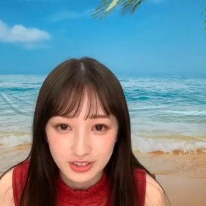 團遥香キャスター 巨乳を乗せながらインスタライブを配信する!!【GIF動画理】