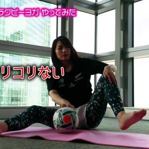 笹崎里菜アナ ヨガでリンパを刺激しながら大股開き!!【GIF動画あり】