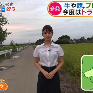 テレ朝新人・安藤萌々アナのブラウスが透ける!!