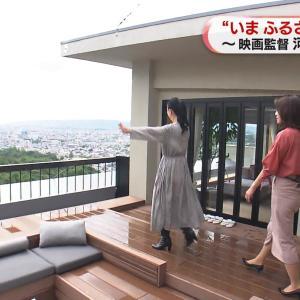 牛田茉友アナ タイトスカートのお尻と、透けた肩紐!!